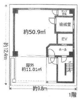 【店舗・事務所】上本町延三ビル1階